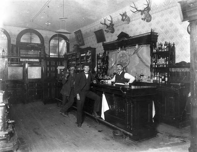 BLACKHAWK SALOON 1897