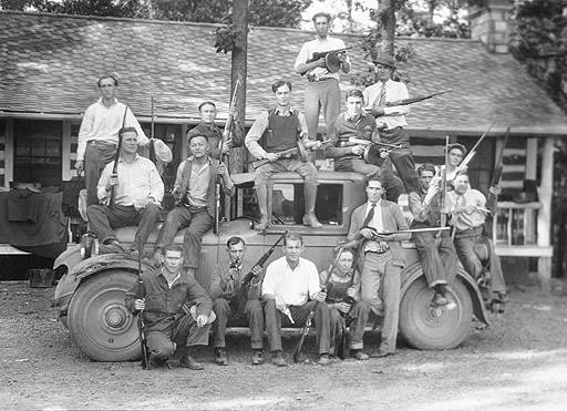 BOOTLEGGER CHARLEY BIRGER AND HIS ILLINOIS GANG 1927