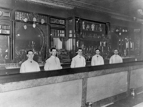 BARTENDERS AT ST CHARLES HOTEL BAR