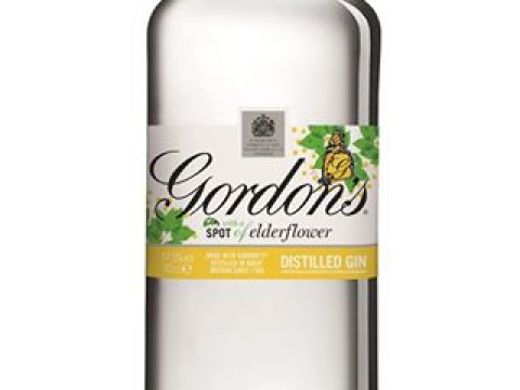 ELDERFLOWERS GORDON'S GIN