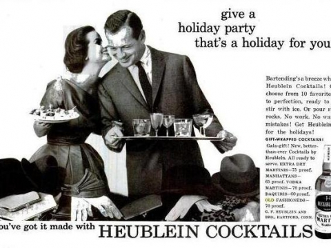 HEUBLEIN COCKTAILS