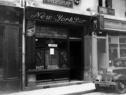 NEW YORK BAR PARIS 1930